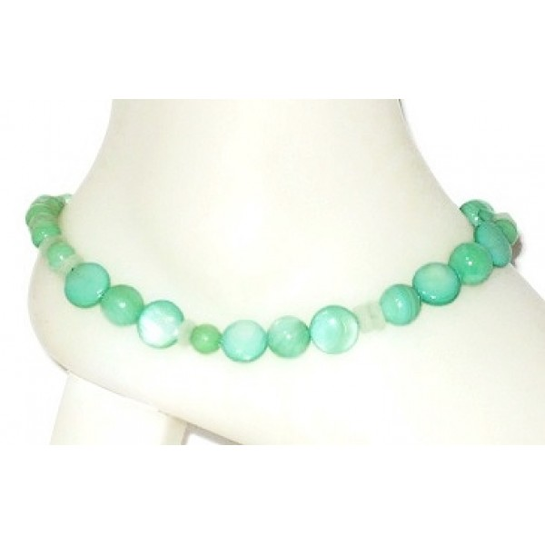Mint Green Ankle Bracelet