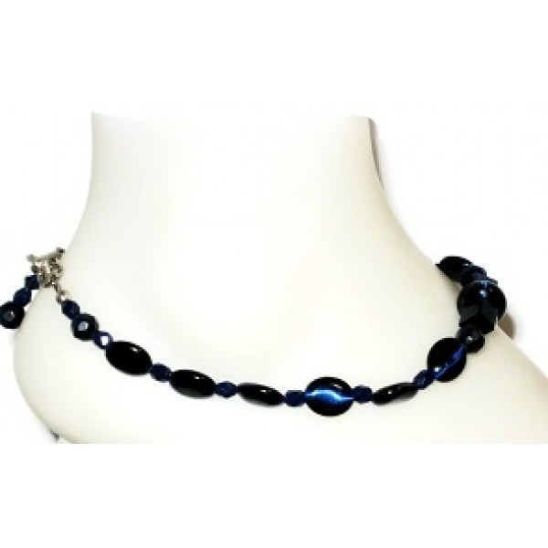 Navy Blue Ankle Bracelet