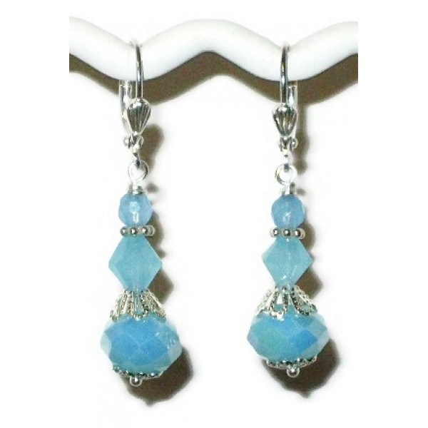 Baby Blue Bridesmaid Earrings