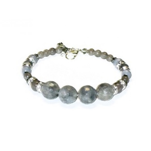 Gray Bridesmaid Bracelet