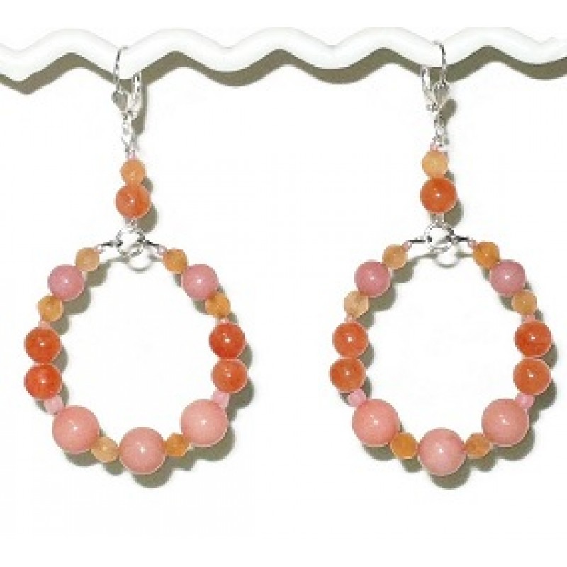 myrtle ethel poshmark peach listing m jewelry earrings nwt