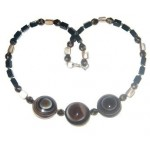 Botswana Agate Necklace Set