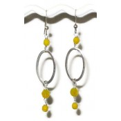 Sterling Silver and Gold Filled Beaded Earrings